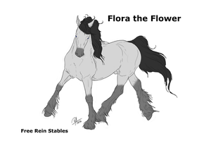 Flora the Flower's reference by ANIMALGIRL1869