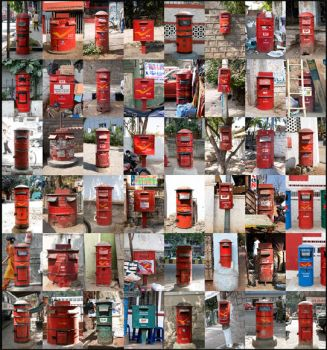 Post Boxes by BecLee