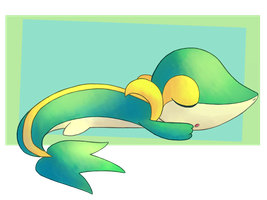 Snivy by FairyJonke