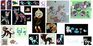 Selling All Adopted Characters - 11/24 OPEN !! by CraftenMC