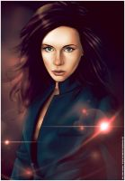 Kate Beckinsale by erickenji