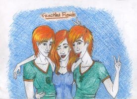 Freckled Fiends by ironman6chick