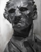 Sculpture Study in Oil by Zirngibl