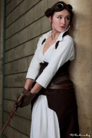Leia ~ Steampunk by Pandore11