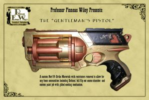 The Gentleman's Pistol by davincisghost