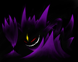 Mega Gengar by Perfect1Up