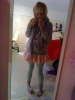 fairy kei outfit. by coraface
