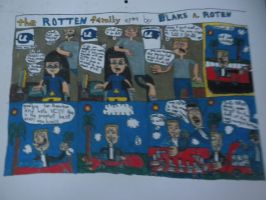 The Rotten Family #4: March 2011 by BARproductions