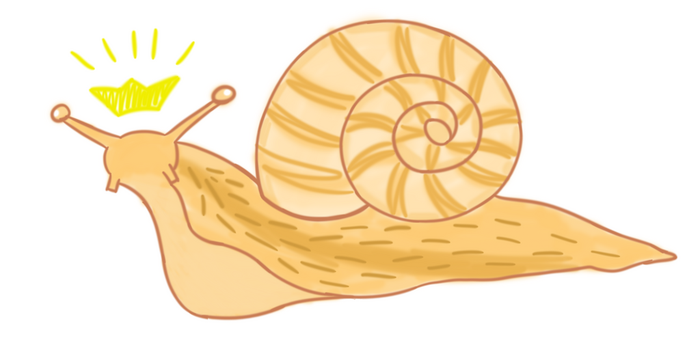 Snail King by Roosterz