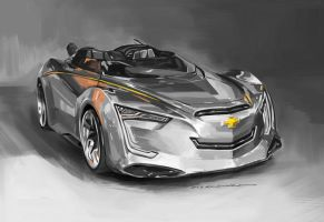 Chevrolet Concept Miray by darkdamage