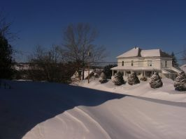 march 13th winter storm 3 by BlueIvyViolet