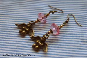 Angels Earrings by KaoriArt