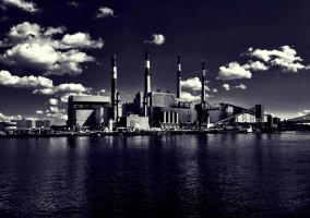 Ravenswood Power Plant by DiMiles