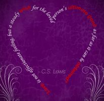 Love is a Steady Wish by MattShadoinDesign
