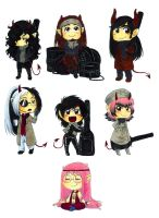 SP chibi-set 2 by Keed-Kat