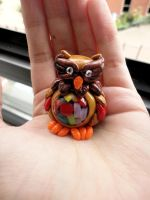 Desert Bead Owl by Lucky101212
