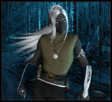Honglath Freth :: Drow Mage (Reinvented) by DrowElfMorwen