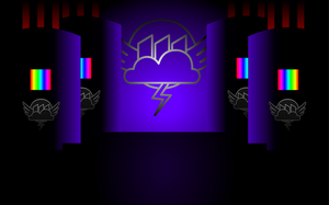 Rainbow Factory - Background 5 (Hall of Vats) by Lt-Fleur