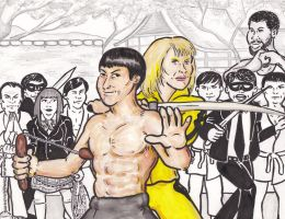 Bruce Lee - Battle Artist by cheesebugs