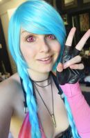 Jinx test by Kinpatsu-Cosplay