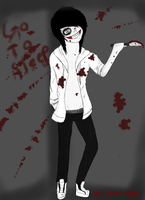 Jeff the killer by buttercup200