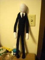 Slender Man Plush by CarpeCor