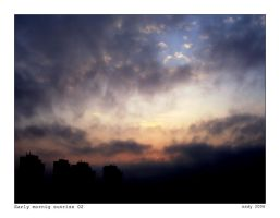 Early mornig sunrise 02 by ESDY