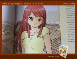 Mastering Manga 2: sample illustration by markcrilley