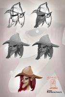 How I paint a Witch by VERITAS-ZEEN