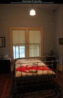 1900s Bedroom Stock by Cassy-Blue