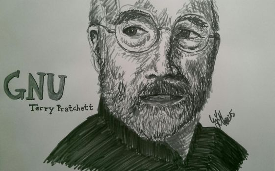 GNU Sir Terry by Cyluho