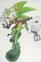 Scourge  Done in Watercolour by EpicOverload