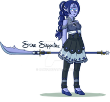 SU OC: Star Sapphire by Fictional-Roulette