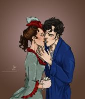 Victorian!Sherlolly-Part5 by lexieken