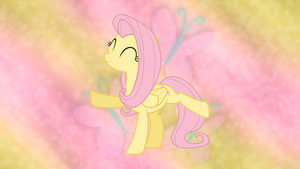 Fluttershy wallpaper V2 by JamesG2498