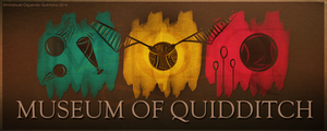 LOGO: MUSEUM OF QUIDDITCH IN LONDON by Emmanuel-Oquendo