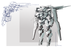 Stratus production sketch by mqken