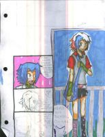 BEP: Fran's Going to School by LostSorrows
