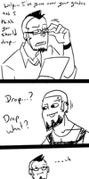 Dropping, professor! by DragonRider13025