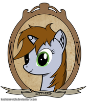 [FoE] LittlePip photo in old style by Koshakevich