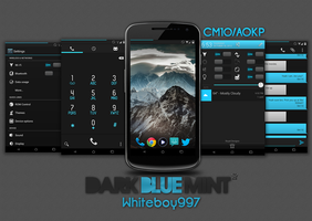 Dark Blue Mint CM10/AOKP by Whiteboy997