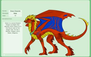 Draco Draconis Official Ref. by Lord-DracoDraconis