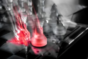 Chess Experiment #1 - After Glow by JaliosWilinghart