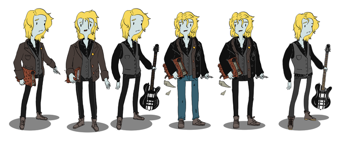 Adventure-time me designs by azelinus