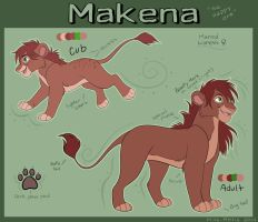 Makena Reference sheet 2014 by Miss-Melis