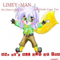 Limey Man by xPetalstormx