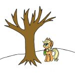 Applejack: Waiting for Applebucking Season by Closer-To-The-Sun