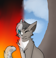 ashfur and  thrushpelt two different endings by Ellathegrayeevee