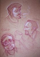 Trailer Park Boys sketches by oGuttermoutho