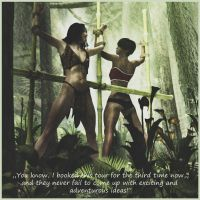 Jungle Girls by LmAnt